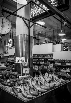 Grand Central Market, The Historic Core:  Downtown Los Angeles, California