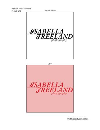 Graphic Design I: Logo Design