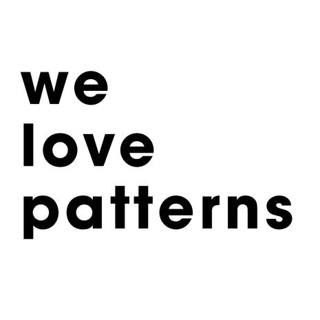 WE LOVE PATTERNS PRINTS COLOURS SHAPES