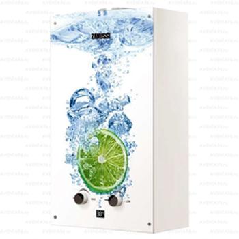 Колонка газовая Zanussi Fonte Glass Lime
