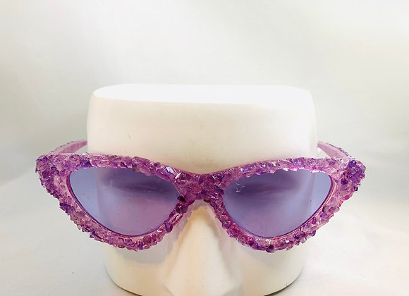 Amethyst Cat Eye Rock Candy
