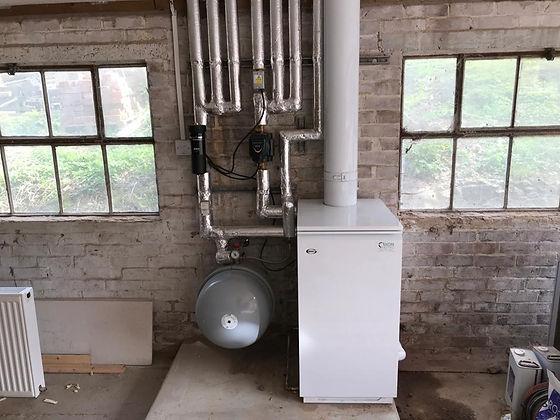 Oil Boiler installation Energy Efficient