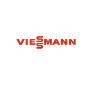 Viessmann logo in red on a white background