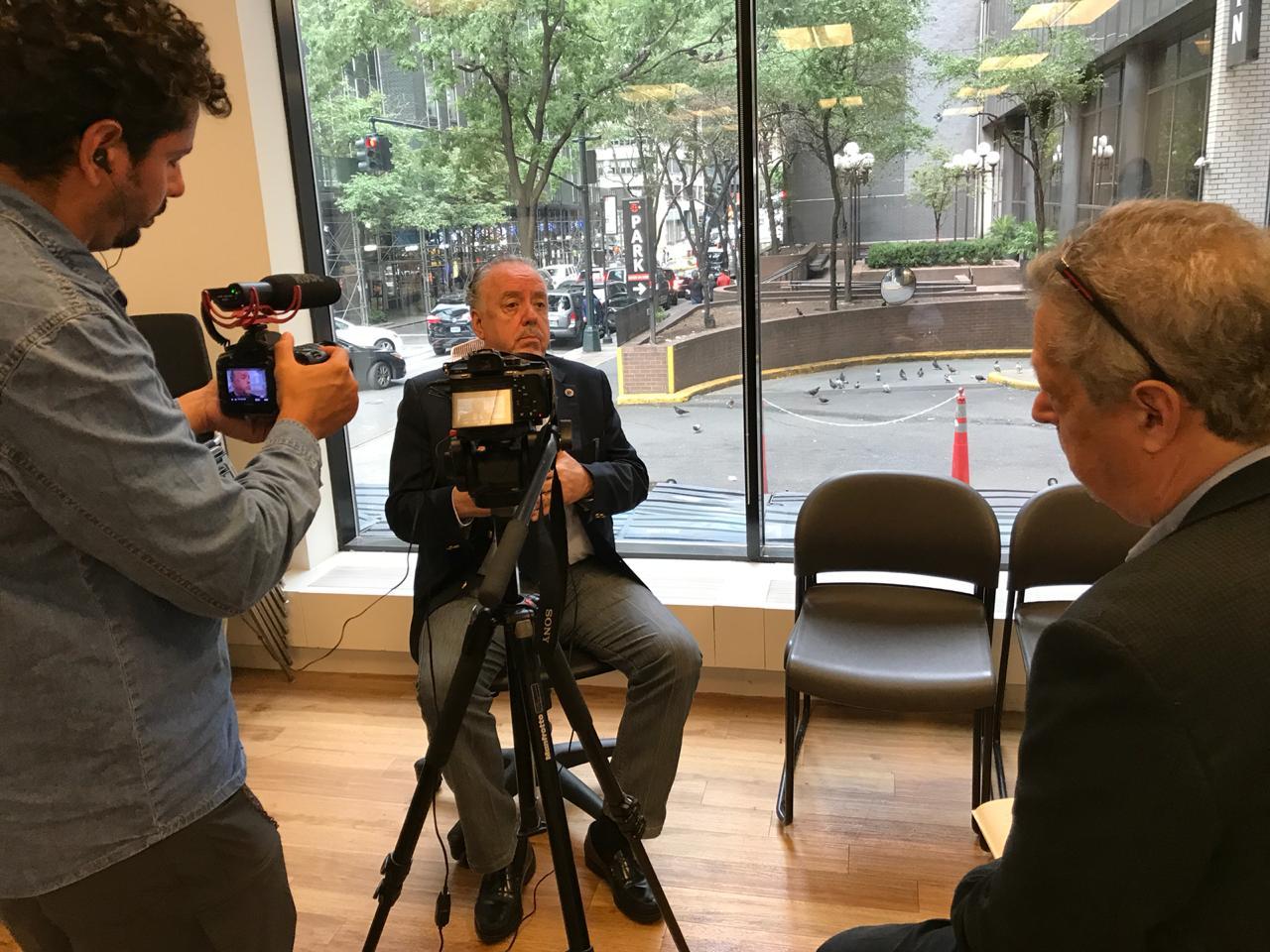 Entrevista para Pacto Global/NY