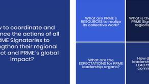 PRME Strategic Action Coordination (SAC) Process