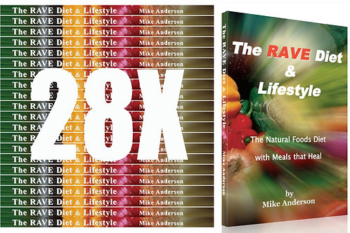 1 case of Rave Diet & Lifestyle book