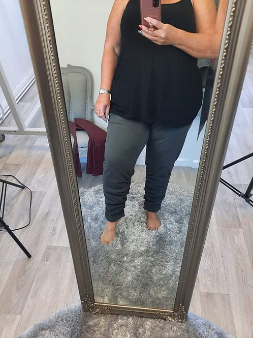 The Posh Ruched Joggers - Plus Size