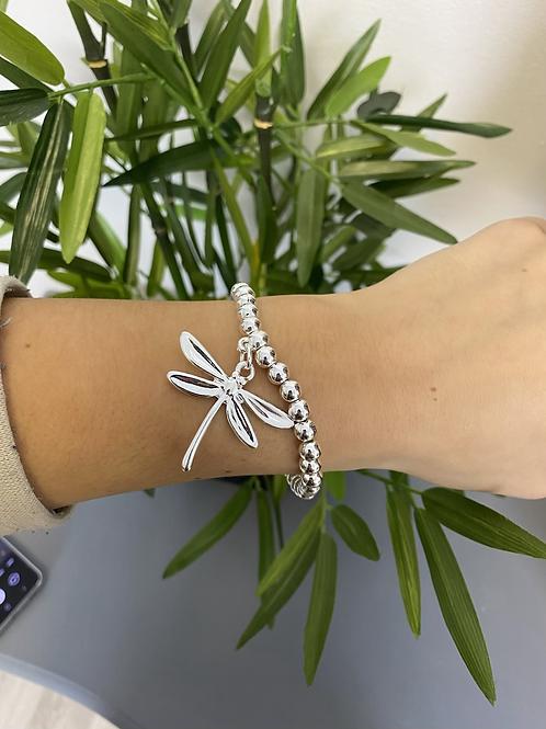 The Silver Elasticated Bracelet