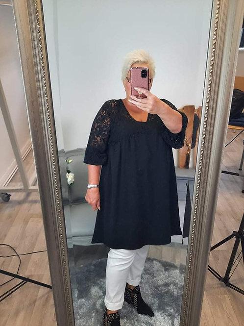 The Linzi Lace Tunic Dress