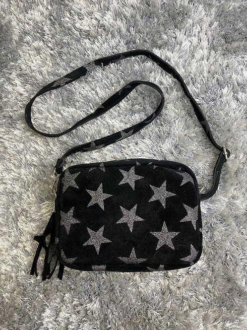 The Suede Star Bag