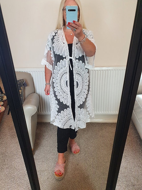The Lace Beach Cover Up - Sale Item - NO RETURN