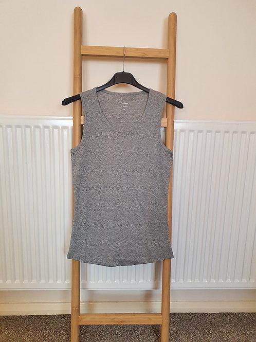The Cotton Vest Tops - Grey