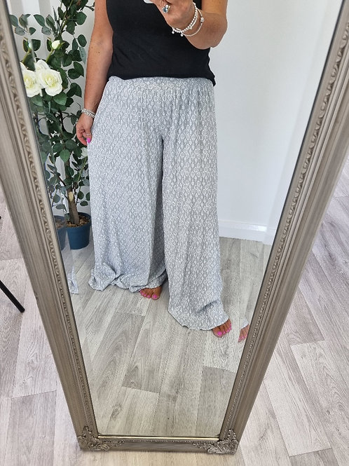 The Haley Palazzo Trousers - Sale Item - NO RETURN