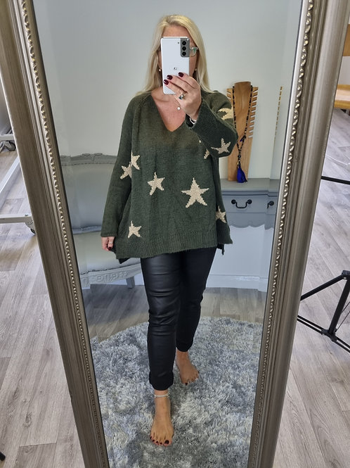 The Eve Star Knitted Jumper