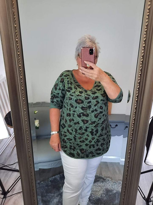 The Leo Leopard Tops