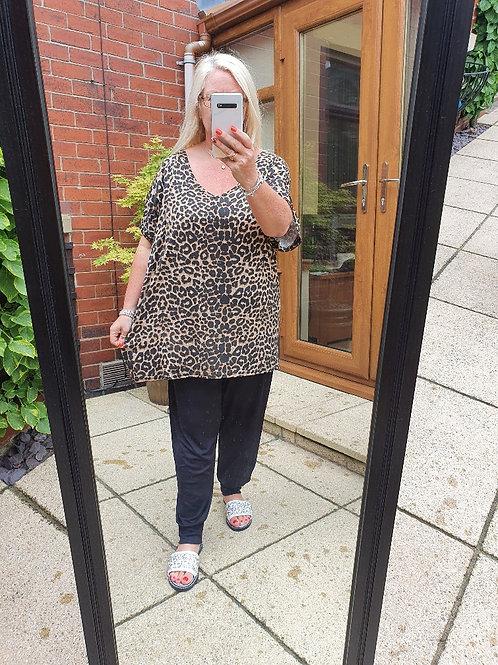 The Leopard Tee - Sale Item - NO RETURN