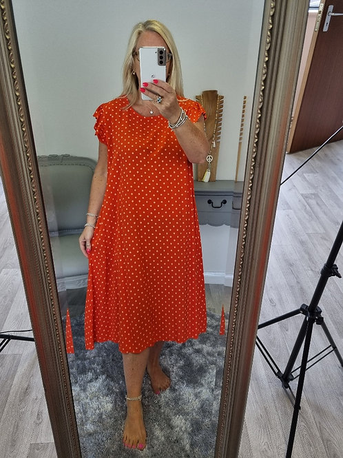 The Spotty Summer Dress - Sale Item - NO RETURN