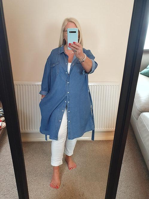 The Denim Shirt Dress - Sale Item - NO RETURN