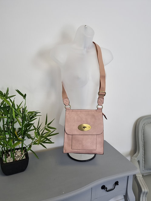 The Messenger Bag - Light Pink