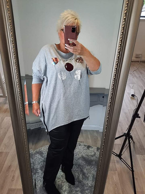 The BE DIFFERENT Sweatshirts - Plus Size