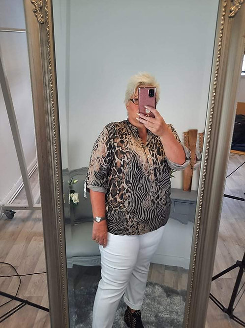 The Frankie Leopard/Tiger Shirt