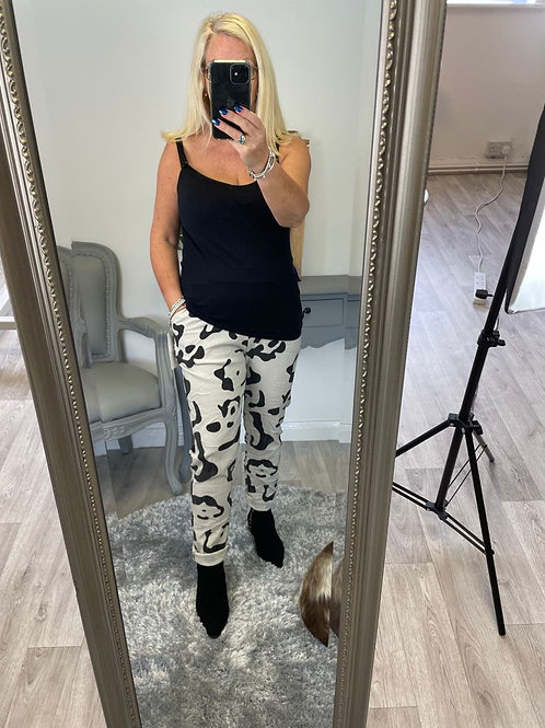 The Leopard Magic Trousers