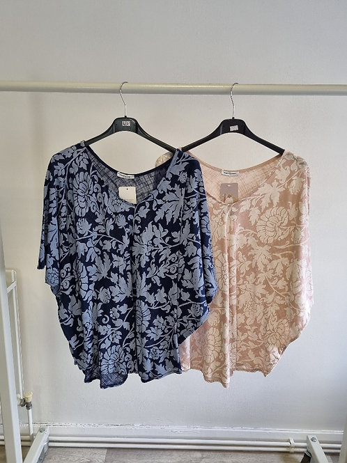 The Betty Batwing Cotton Top - Sale Item - NO RETURN