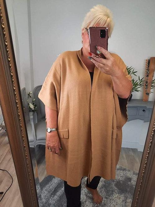 The Wallis Luxe Waistcoat / Poncho