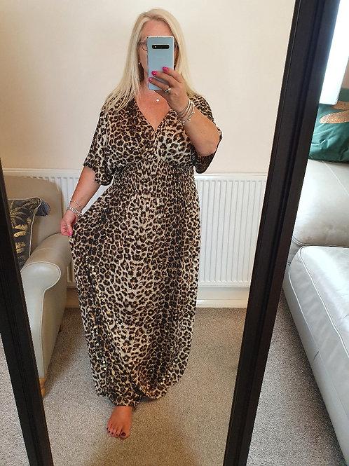 The Indiana Leopard Maxi Dress - Sale Item - NO RETURN