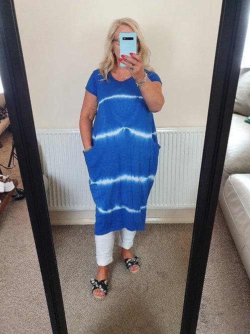 The Pandora Tie Dye Dress - Sale Item - NO RETURN