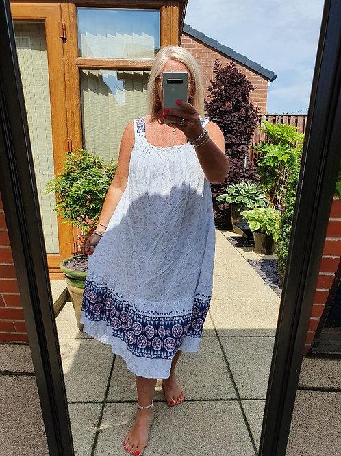 The Paisley Sundress - Sale Item - NO RETURN