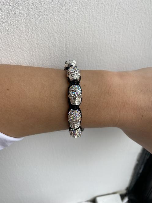 The Diamante Skull Bracelet