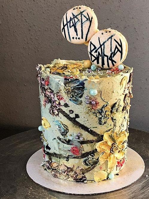 6in Cake (serves 18)