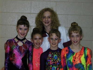 Camille in 1998. Brie is on the far left.