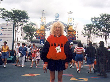 Camille Martens Olympics 1996