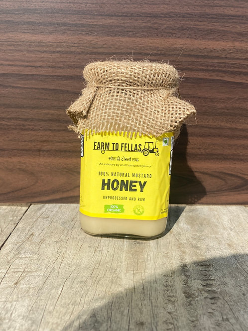 100% Natural Mustard Honey
