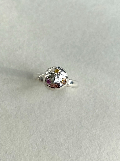 TRIO OF SAPPHIRES BOBBY RING