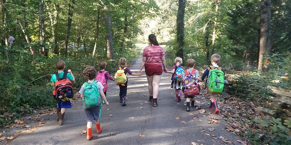 Ijams Nature Play Club (preschool series)