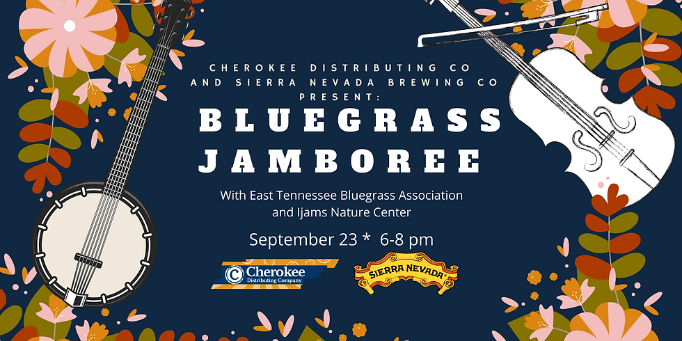 SPECIAL EVENT: Bluegrass Jamboree with ETNBA and Ijams