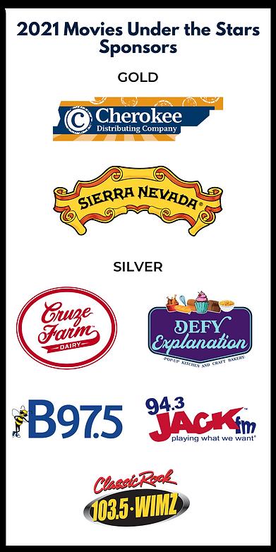 2021 Movies Under the Stars Sponsor Logo