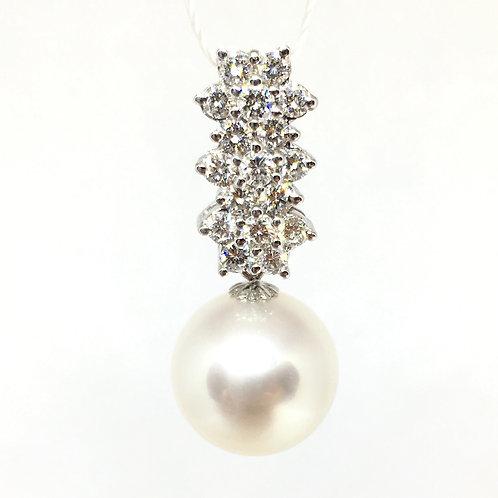 South Sea Pearl Diamond Pendant