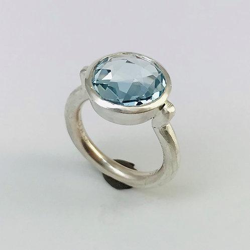 Silber mit Topas Sky Blue