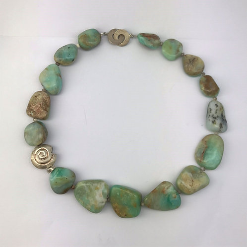 Opal mit Silber 925
