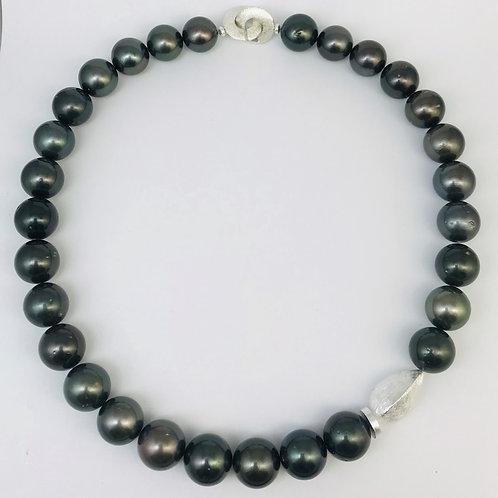 Tahiti-Perlen mit Silber 925