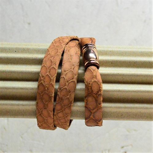 Lederband mit Magnetverschluss