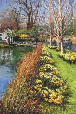 Teresa Allen Springtime at Carshalton Po