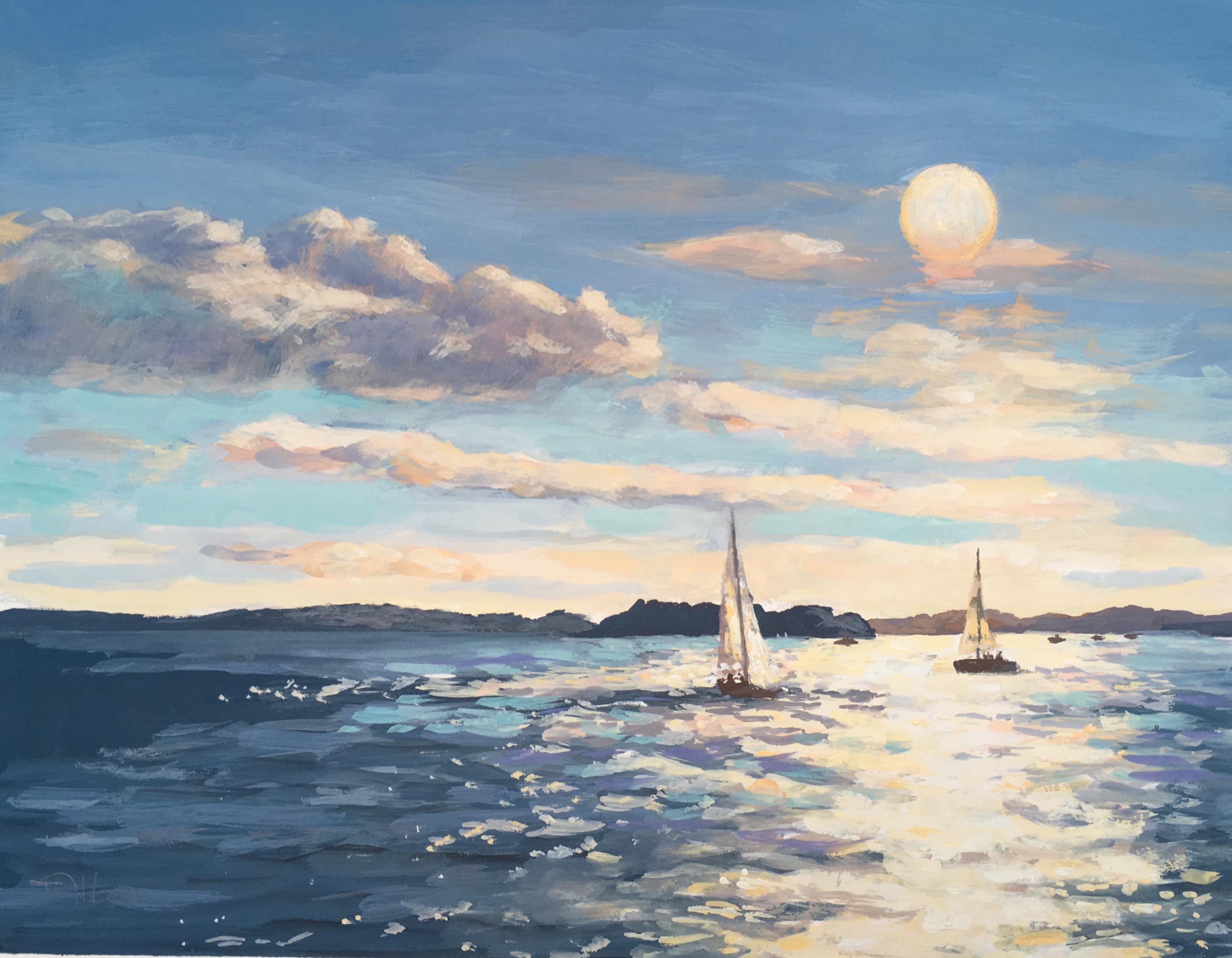 Sailing home - Teresa Allen
