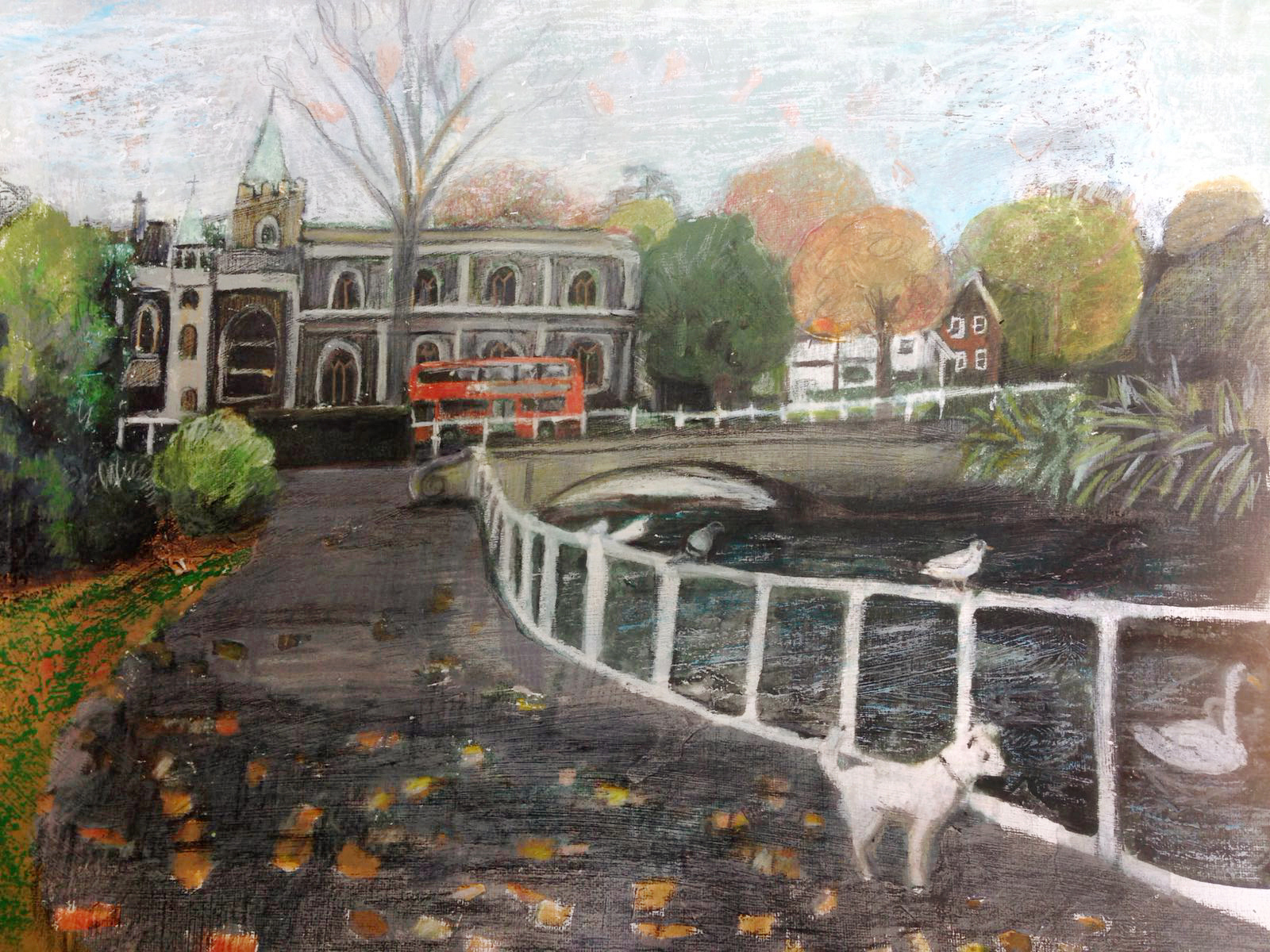 Jo Sharpe Carshalton Ponds