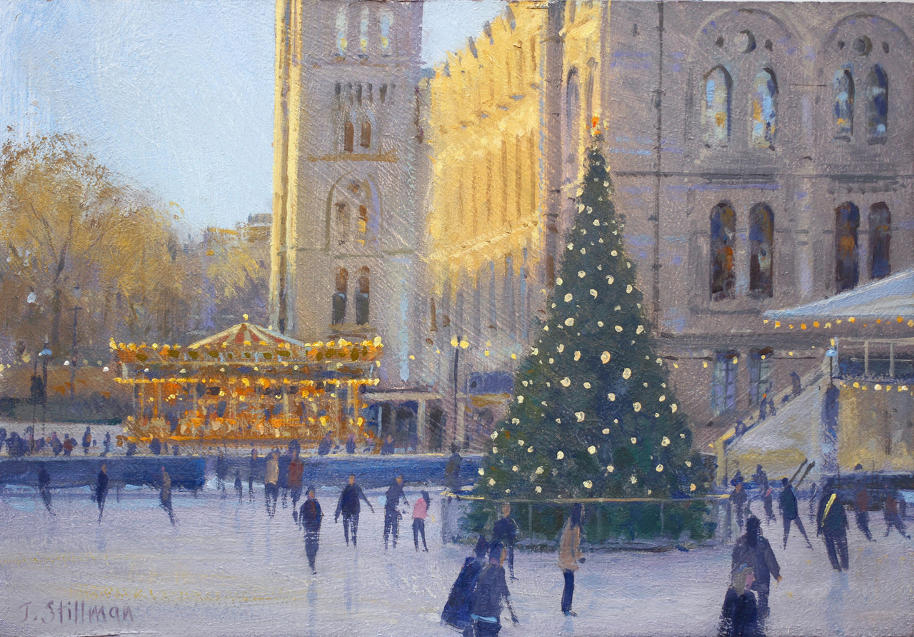 John Stillman 'Christmas - Natural Histo