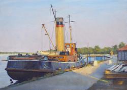 John Stillman 'Old steam tug, Maldon'